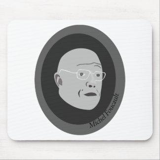 michel-foucault mouse pad