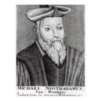 Michel Nostradamus Postcard
