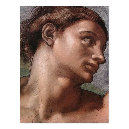 Michelangelo Creation of Adam Post Card