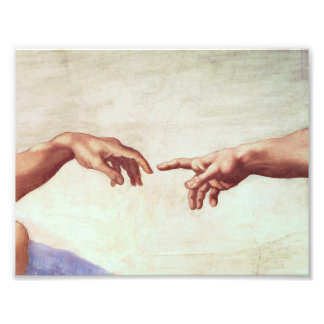 Michelangelo Hands Art Photo