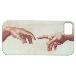 Michelangelo Hands iPhone 5 Cases