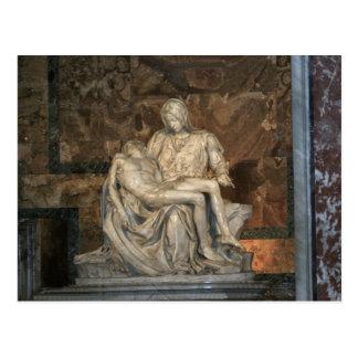 Michelangelo Pieta Postcard