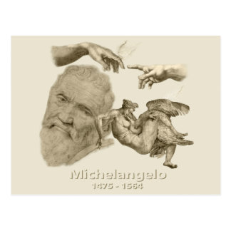 Michelangelo Postcard