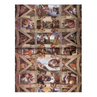 Michelangelo: Sistine Chapel Ceiling Postcard