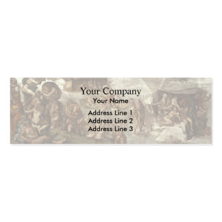 Michelangelo: Sistine Chapel Ceiling: The Flood Business Cards