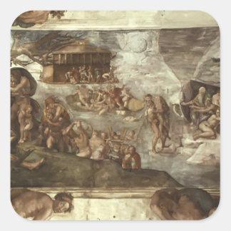 Michelangelo: Sistine Chapel Ceiling: The Flood Sticker