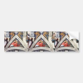 Michelangelo: The Ancestors of Christ: Asa Bumper Sticker