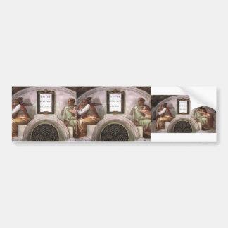 Michelangelo: The Ancestors of Christ Bumper Sticker
