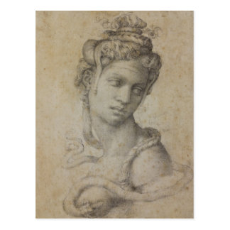 Michelangelo's Cleopatra Postcard