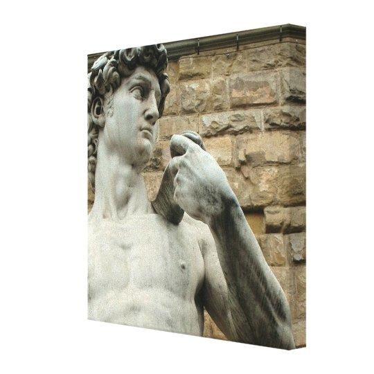Michelangelo's David 1 Canvas Print