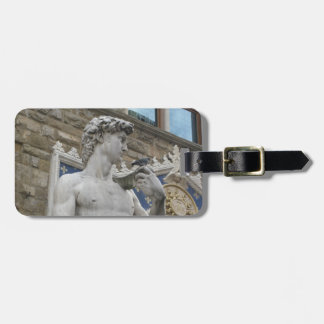 Michelangelo's David  Florence, Italy Bag Tag