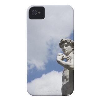Michelangelo's David in the Piazza della 2 iPhone 4 Case-Mate Cases
