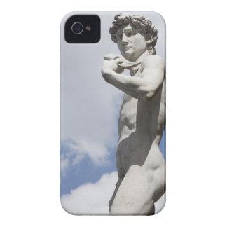 Michelangelo's David in the Piazza della 3 iPhone 4 Case-Mate Cases