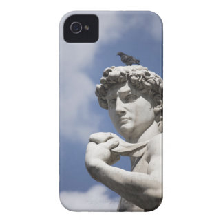 Michelangelo's David in the Piazza della iPhone 4 Cover