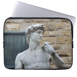 Michelangelo's David Laptop Sleeve