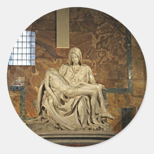 Michelangelo's Pieta in St. Peter's Basilica Classic