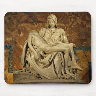 Michelangelo's Pieta in St. Peter's Basilica Mouse Mat