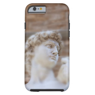 Michelangelo's statue DAVID detail close up view Tough iPhone 6 Case