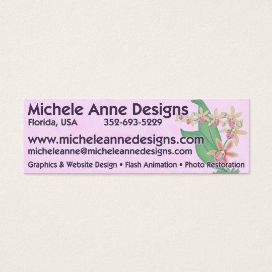 Michele Anne Designs Mini Business Card