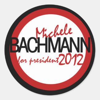 Michele Bachman 2012 Round Sticker
