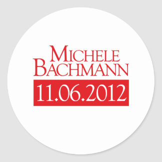 MICHELE BACHMANN 11.06.2012 STICKERS