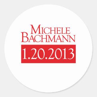 MICHELE BACHMANN 1-20-2013  STICKER