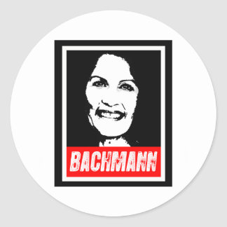 MICHELE BACHMANN 2012 POSTER STICKERS