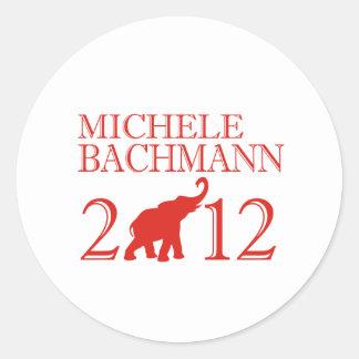 MICHELE BACHMANN 2012 (Repu Stickers