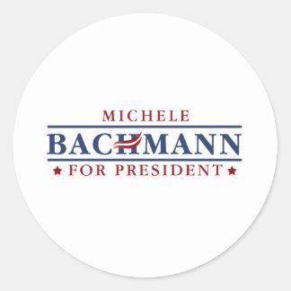 Michele Bachmann 2012 Round Sticker