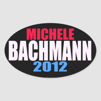 Michele Bachmann 2012 Oval Stickers