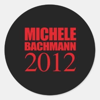 MICHELE BACHMANN 2012 -- STICKER