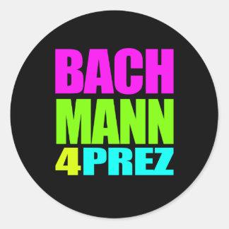 MICHELE BACHMANN 4 PREZ ROUND STICKER
