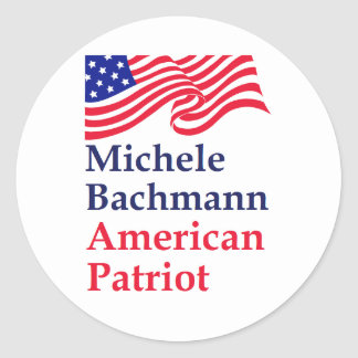 Michele Bachmann American Patriot Stickers