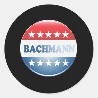 MICHELE BACHMANN CAMPAIGN B ROUND STICKER