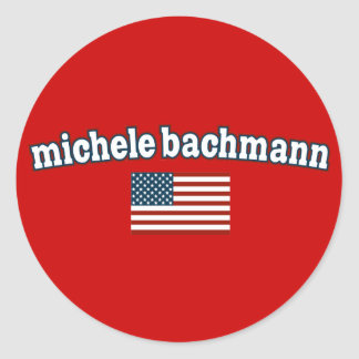 Michele Bachmann for America Round Sticker