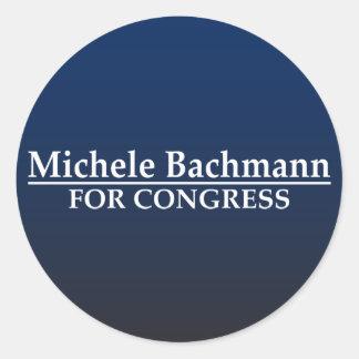 Michele Bachmann for Congress Round Sticker