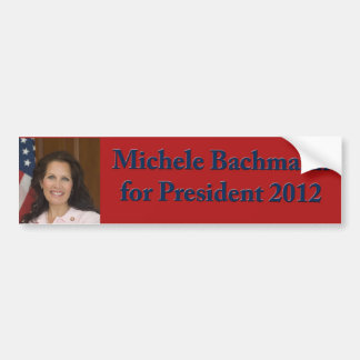 Michele Bachmann for President 2012 Car Bumper Sticker