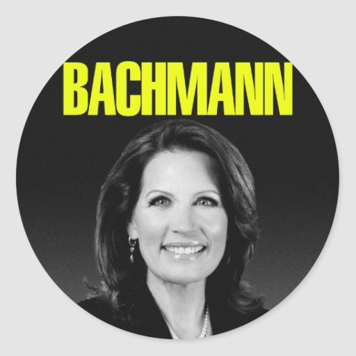Michele Bachmann for President 2012 Sticker