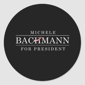 MICHELE BACHMANN FOR PRESIDENT STICKERS