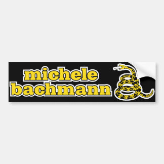 Michele Bachmann Gadsden Snake Bumper Sticker