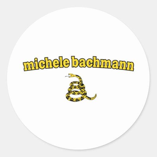 Michele Bachmann Gadsden Snake Sticker
