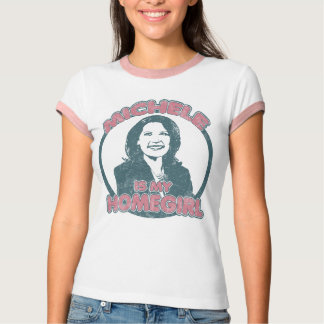 Michele Bachmann Homegirl (girly edition faded) Tshirts