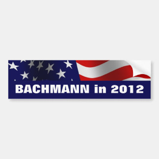Michele Bachmann in 2012 Bumper Sticker