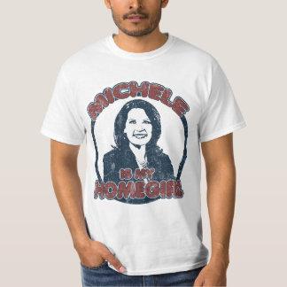 Michele Bachmann is my Homegirl (distressed) T-Shirt
