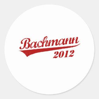 MICHELE BACHMANN JERSEY35 ROUND STICKER