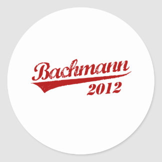 MICHELE BACHMANN Jersey Round Sticker