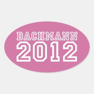 Michele Bachmann Oval Sticker