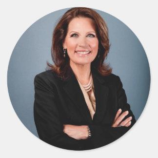 Michele Bachmann Round Sticker