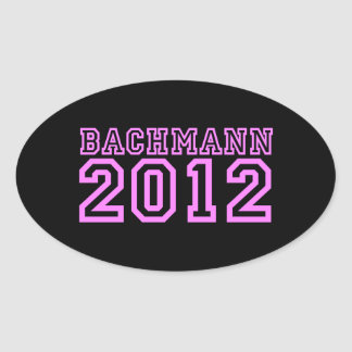 Michele Bachmann Oval Stickers