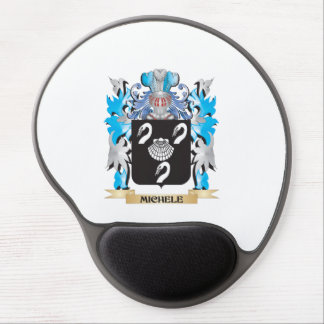 Michele Coat of Arms - Family Crest Gel Mouse Mat